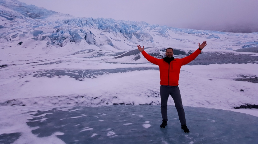 Glaciers, Freezing Rain and Hot Dogs