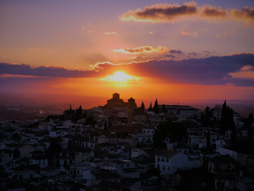 The Sun May Set Over Granada, But The Memories Light My Journey